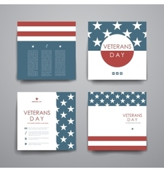 Set of brochure poster design templates in vector