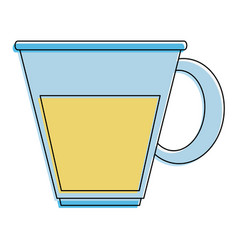 cup of glass vector image