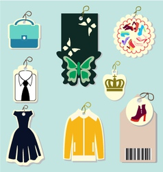 lable-price tags - vector image vector image