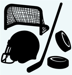 Hockey icon vector image