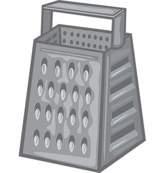 Cheese grater vector image vector image