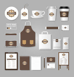 corporate identity template logo concept for vector image