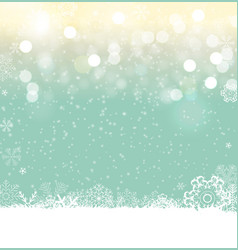 merry christmas and new year glossy background vector image