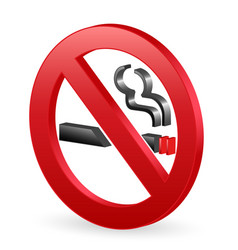 No smoking sign vector