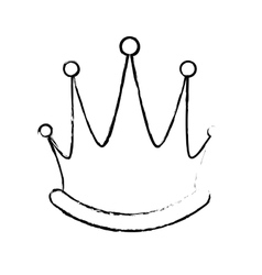 Royal crown icon image vector