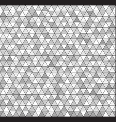Triangle background seamless pattern vector