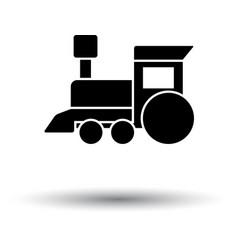 Train toy ico vector