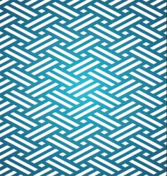Japanese tatami mat pattern vector image