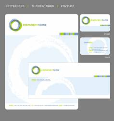 Stationery template vector