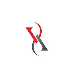 A v letter logo business template icon vector