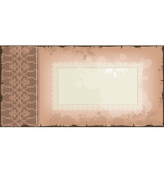 background in brown color vector image vector image