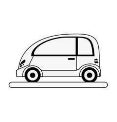 Coupe car vehicle vector