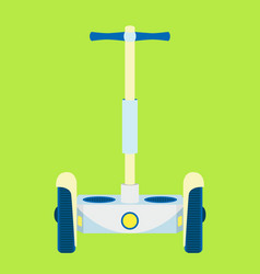 modern segway urban vehicle hipster electric vector image
