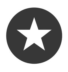 Star shape icon vector