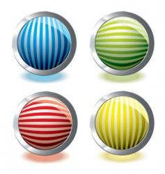 web icon stripe vector image vector image
