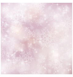 Soft and blurry winter christmas pattern vector