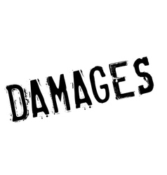 Damages rubber stamp vector
