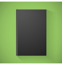 Blank book cover vector