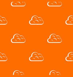 Big cloud pattern seamless vector