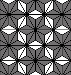 Pattern hexagon vector