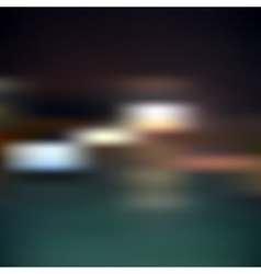 Abstract blur bokeh dark night background eps10 vector