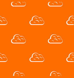 big cloud pattern seamless vector image vector image