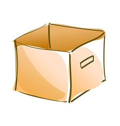 icon box vector image