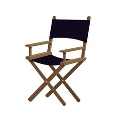 Directors chair icon cinema design vector