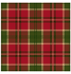 Green tartan design vector