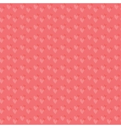 Pair of hearts seamless background vector image