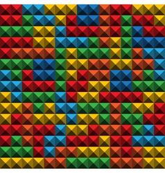 Tetris tiles background vector