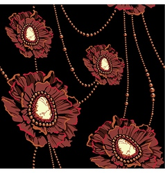 Pattern jewerly vector