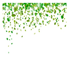 Green confetti background for you design vector