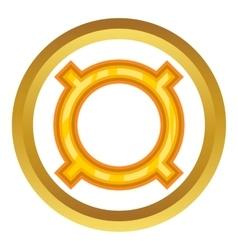 All currencies icon vector