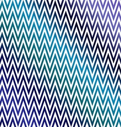 Blue colorful chevron pattern background vector