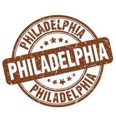 Philadelphia stamp vector