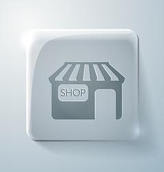 Shop building vector