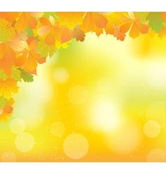 yellow corner vector image vector image