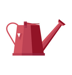 watering can isolated icon vector image