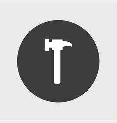 hammer icon simple vector image