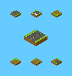 Isometric way set of incomplete upwards vector