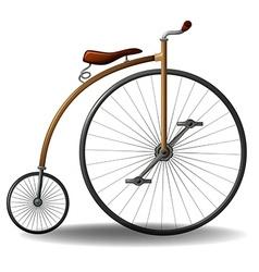 Retro bike vector