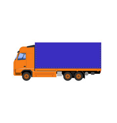 The of the truck vector