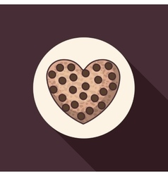 Coockie of bakery food design vector