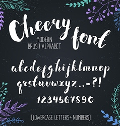 Hand drawn letters vector