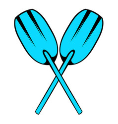 Paddle icon icon cartoon vector
