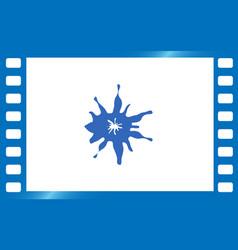 Ink splash icon vector
