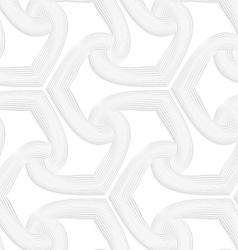 3d white striped spades vector