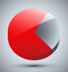 Diagram Business statistics vector image