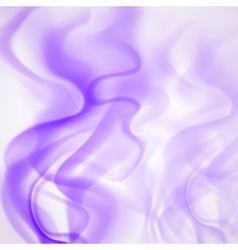 Abstract background of violet smoke vector image vector image